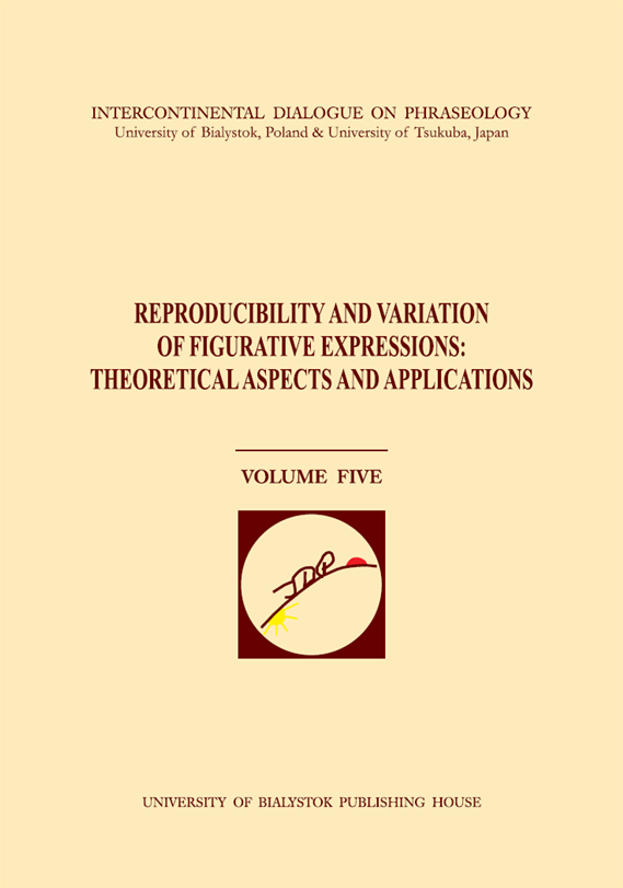 Reproducibility and Variation of Figurative Expressions Cover